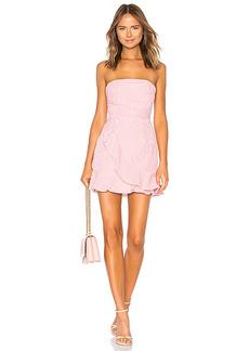 superdown Rosalie Stripe Ruffle Dress