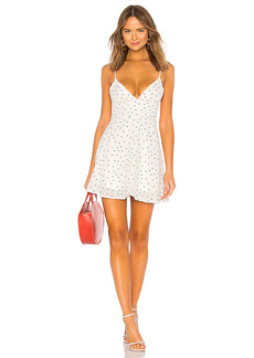 superdown Sienna Polka Dot Fit and Flare