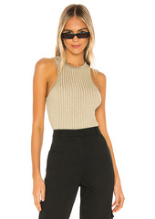 superdown Sonya Rib Sweater Tank