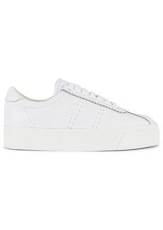 Superga 2854 Club 3 Full Comfort Leather Sneaker