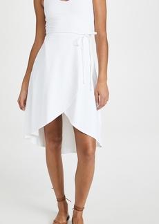 Susana Monaco V Neck Wrap Dress