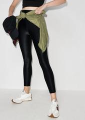 Sweaty Betty high-shine cropped workout leggings