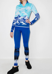Sweaty Betty mountain print ski leggings