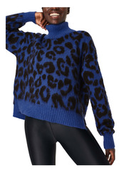 Sweaty Betty Animal Jacquard Turtleneck Sweater