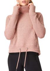 Sweaty Betty Bouclé Funnel Neck Sweatshirt
