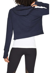 Sweaty Betty Escape Luxe Crop Hoodie