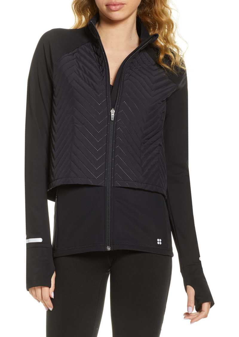Sweaty Betty Fast Track Quilted Running Jacket