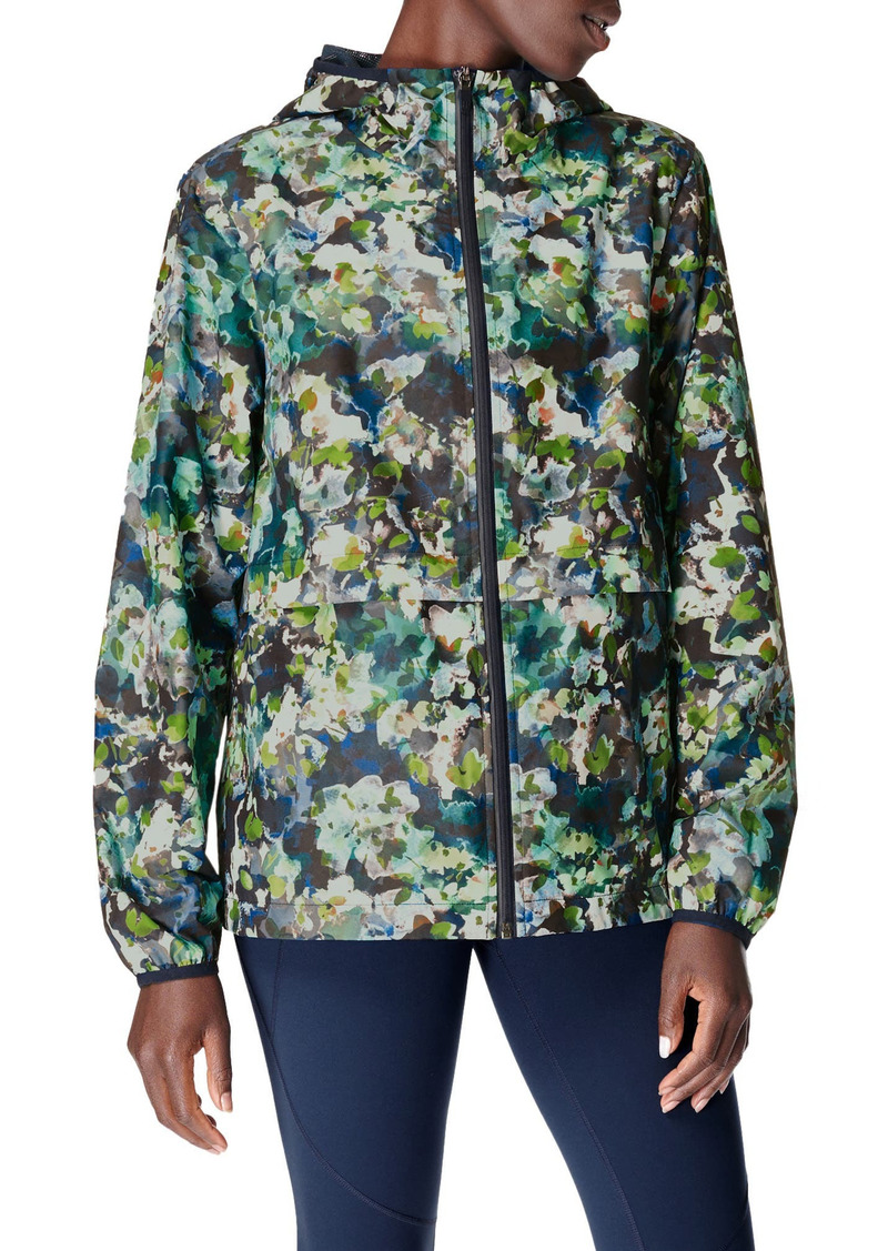 Sweaty Betty Pack It Up Water Resistant Rain Mac