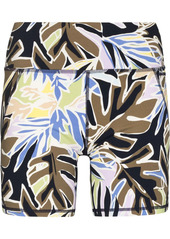 Sweaty Betty Power leaf-print cycling shorts