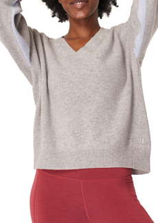 Sweaty Betty Recline Wool V-Neck Sweater