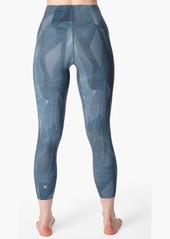 Sweaty Betty Super Sculpt Zigzag High Waist Pocket 7/8 Leggings