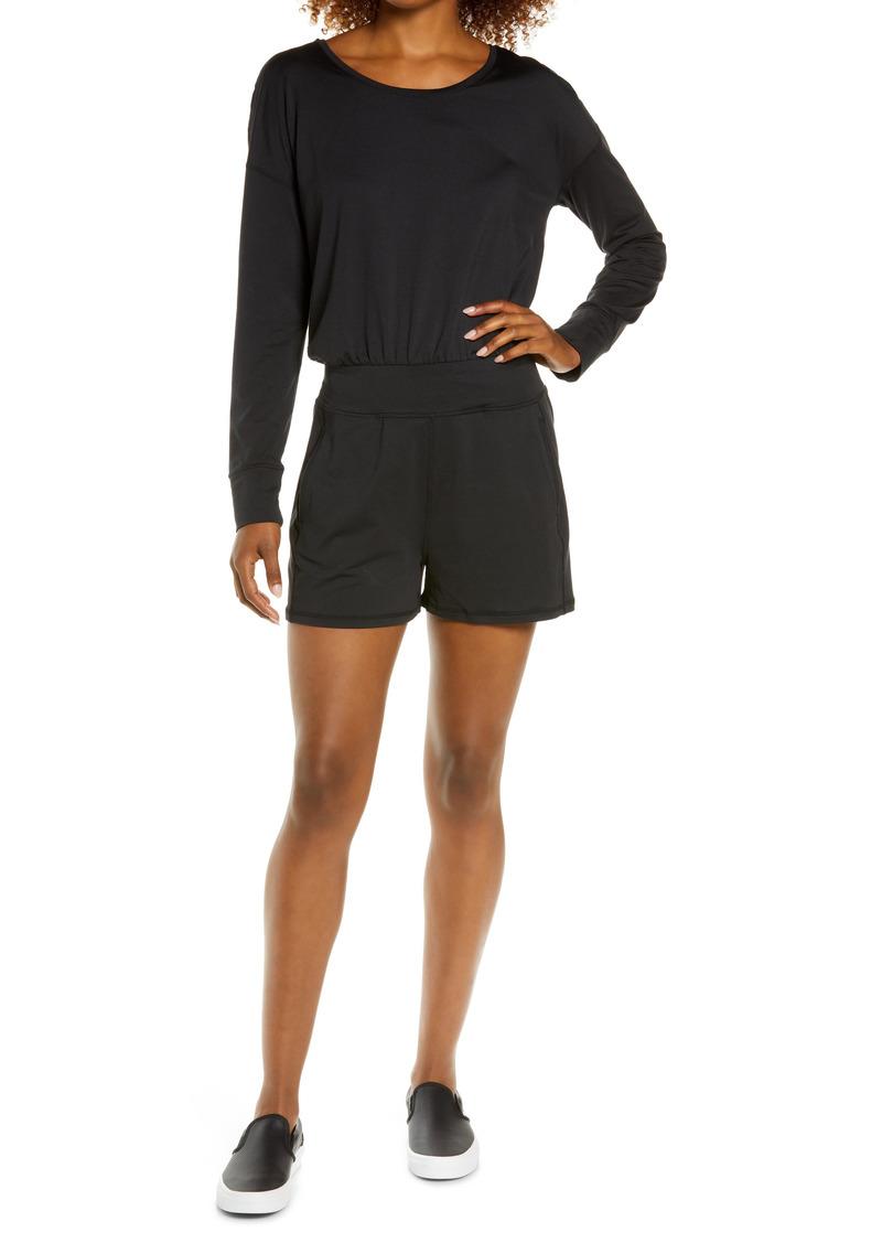 Women's Sweaty Betty Gary Long Sleeve Romper