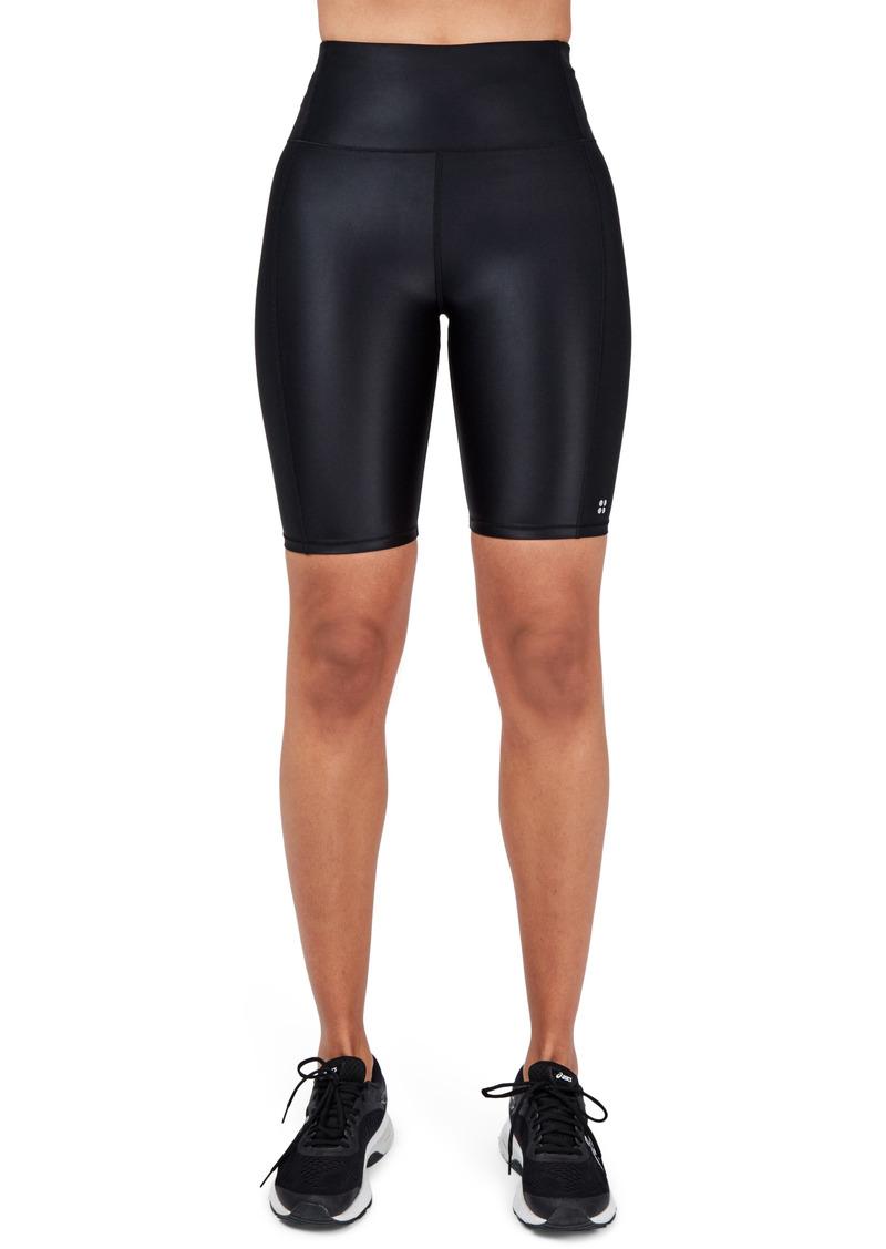 Women's Sweaty Betty High Shine Bike Shorts
