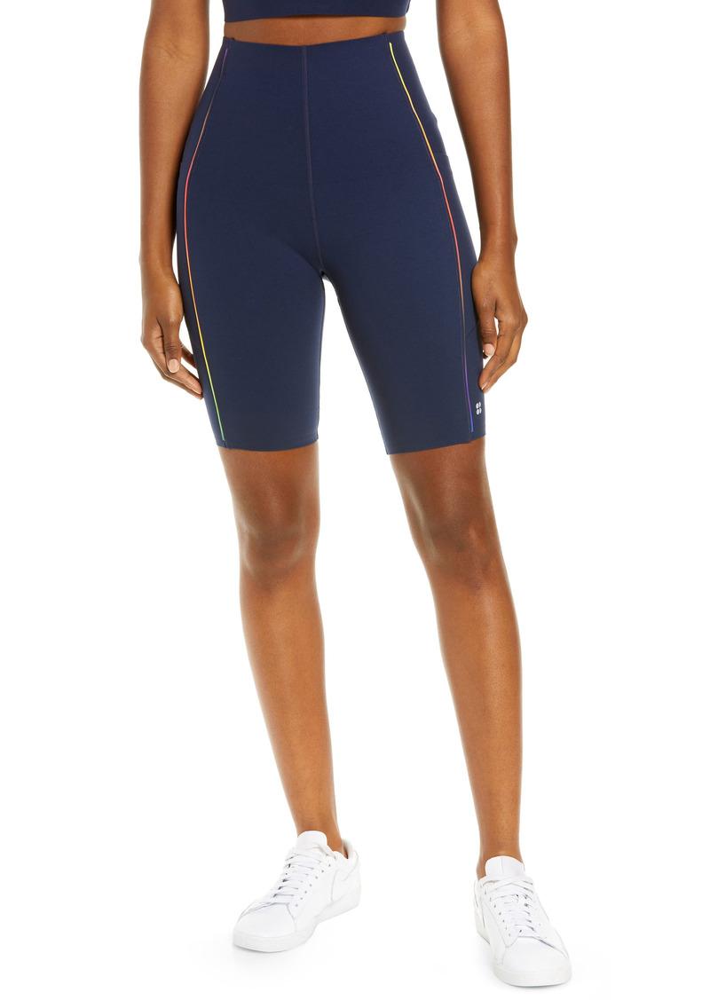 Women's Sweaty Betty Power 9-Inch Pocket Bike Shorts
