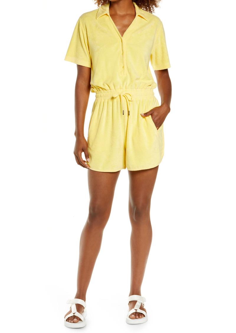 Women's Sweaty Betty Summer Days Terry Cloth Romper