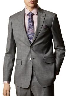 Ted Baker HectorJ Debonair Sharkskin Modern Fit Suit Jacket
