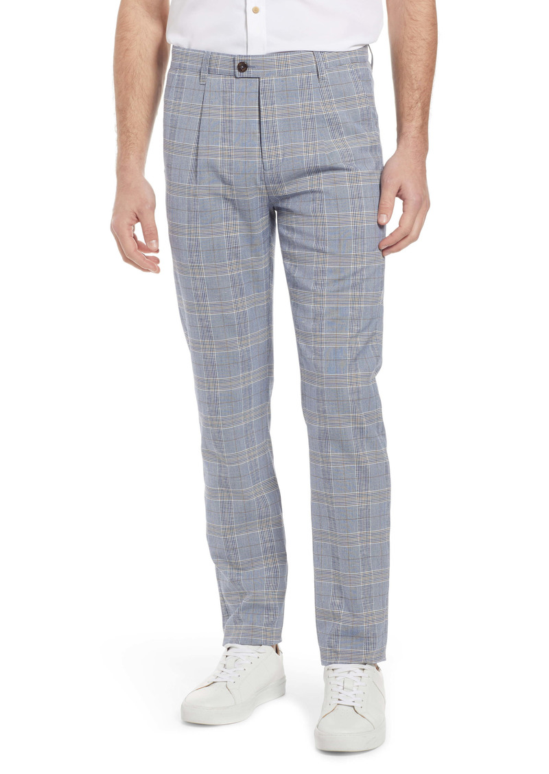 Ted Baker London Aloetro Stretch Plaid Pants