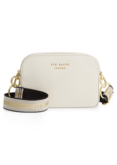 Ted Baker London Amerrah Branded Strap Leather Crossbody Bag