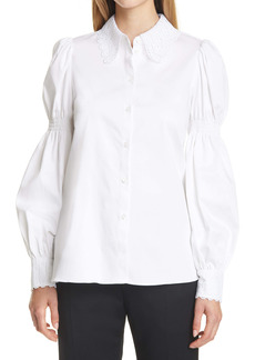 Ted Baker London Briona Lace Button-Up Shirt