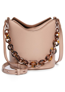 Ted Baker London Brookk Leather Bucket Bag