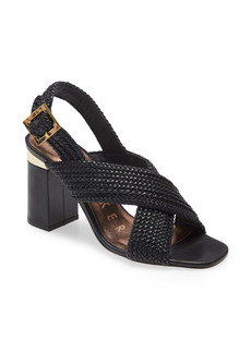 Ted Baker London Cameeia Crossover Braided Slingback Sandal (Women)