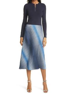 Ted Baker London Ionaaa Long Sleeve A-Line Dress