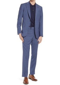 Ted Baker London Jay Slim Fit Plaid Wool Suit