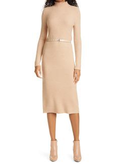 Ted Baker London Long Sleeve Sweater Dress