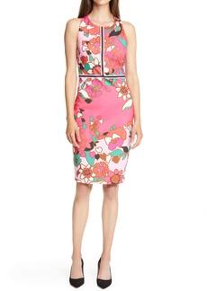Ted Baker London Marloww Piñata Floral Sheath Dress
