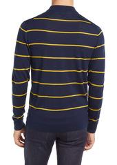 Ted Baker London Nocal Stripe Mock Neck Sweater