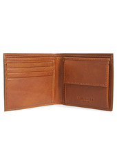 Ted Baker London Prug Leather Bifold Wallet