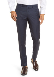 Ted Baker London Roger Extra Slim Fit Flat Front Wool Dress Pants
