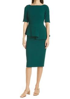 Ted Baker London Romolaa Peplum Detail Dress