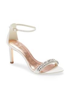 Ted Baker London Saralia Crystal Embellished Ankle Strap Sandal (Women)