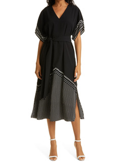 Ted Baker London Scarf Print Dress