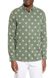 Ted Baker London Slim Fit Floral Button-Up Shirt