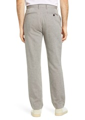Ted Baker London Slim Fit Linen & Cotton Blend Trousers