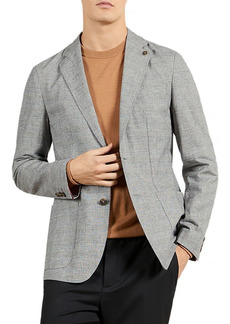 Ted Baker Prince of Wales Check Regular Fit Blazer