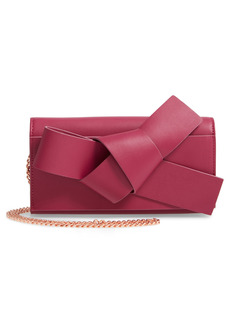 Women's Ted Baker London Knot Detail Wallet On A Chain - Pink