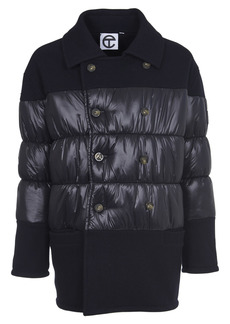 Telfar Puffy Jacket With Wool