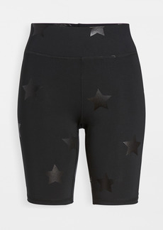 Terez Foil Printed Bike Shorts