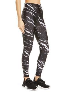 Terez Marble Print Leggings