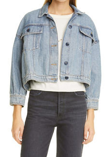 THE GREAT. The Cavalry Denim Jacket