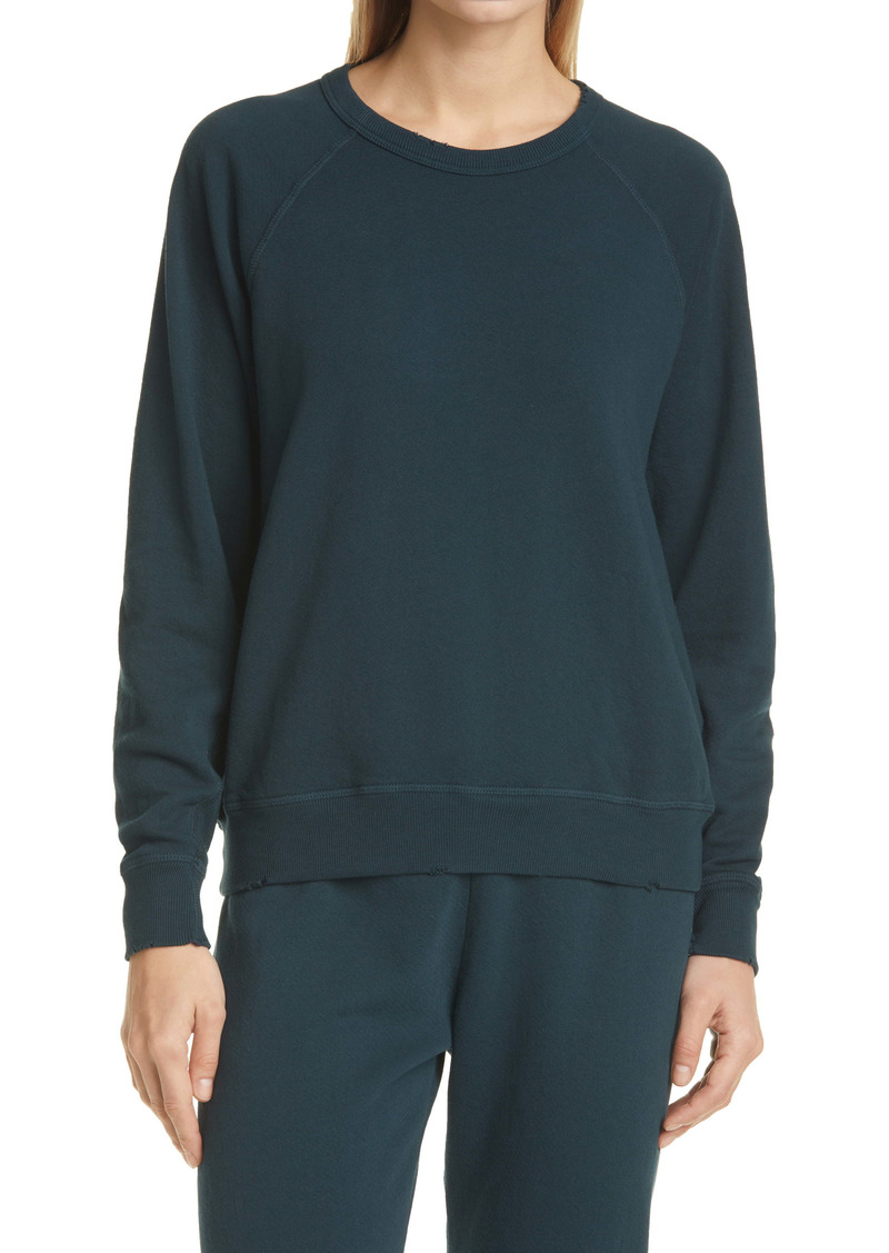 THE GREAT. The College French Terry Sweatshirt
