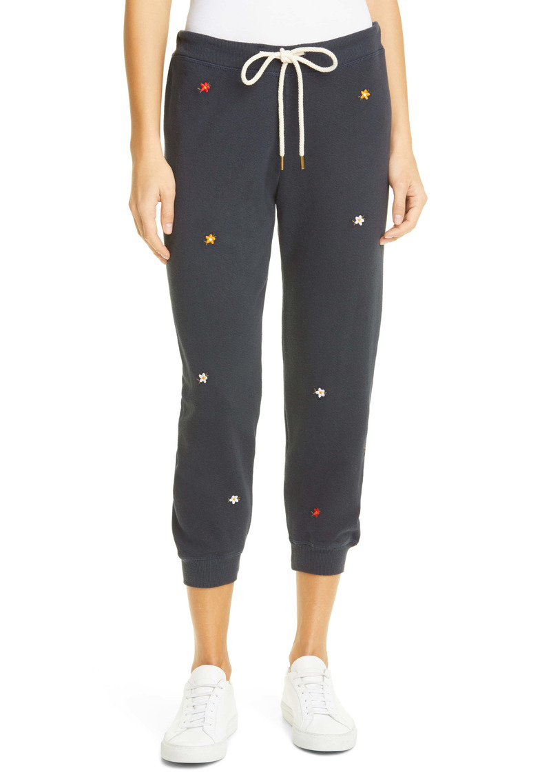 THE GREAT. The Cropped Jogger Sweatpants