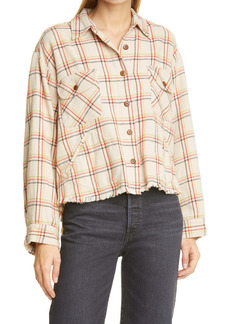 THE GREAT. The Voyager Plaid Jacket