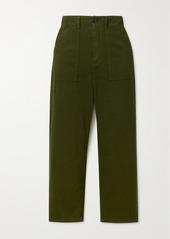 The Great The Ranger Herringbone Cotton Pants