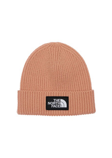 The North Face Logo Acrylic Blend Knit Cuffed Beanie
