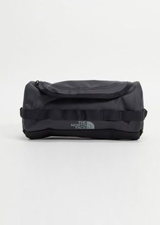 The North Face Base Camp large travel canister wash bag in black