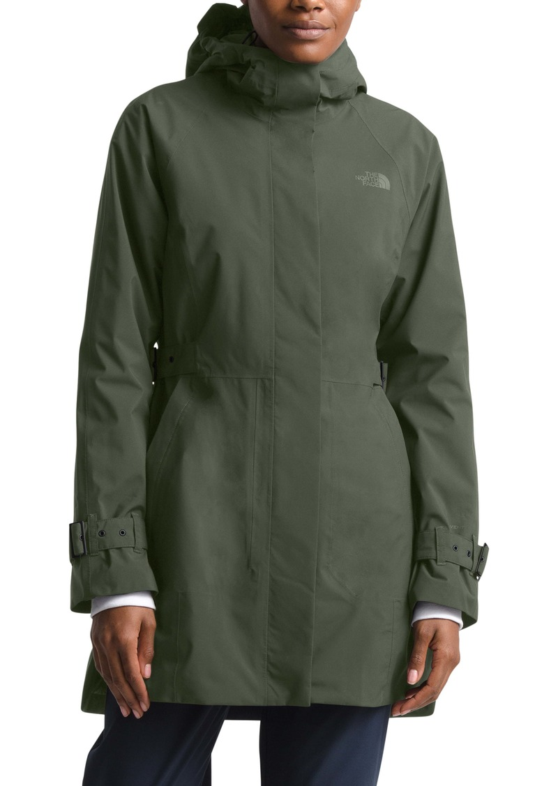 The North Face City Breeze Waterproof Trench Raincoat